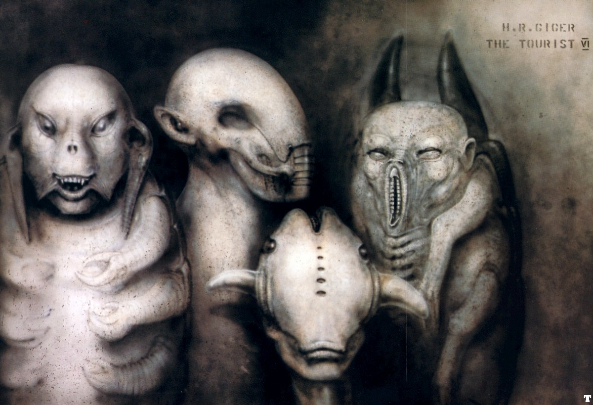 El arte Dark. Hr_giger_thetourist_VI