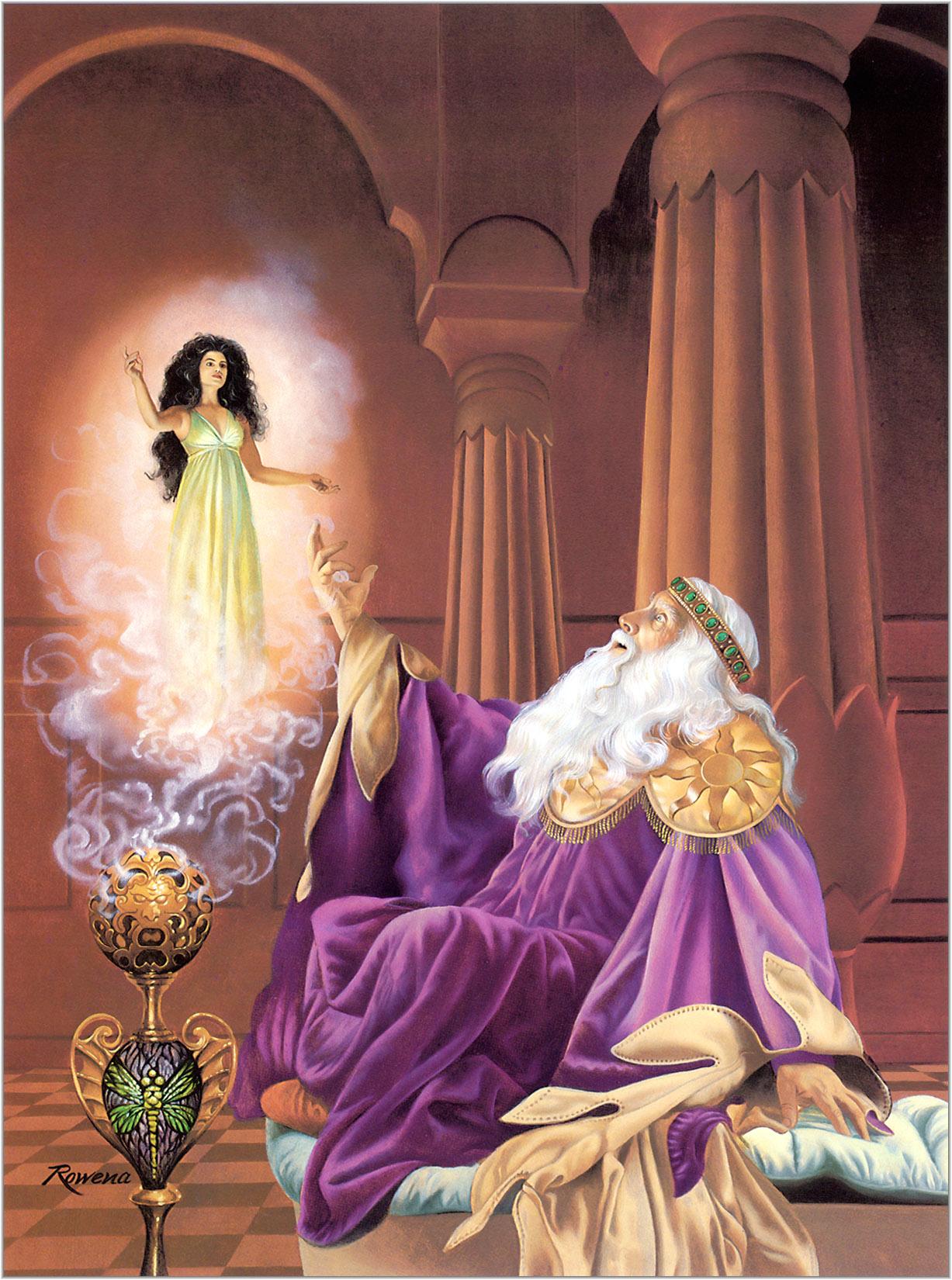 Rowena Morrill Rowena_Morrill_The_Last_Incantation